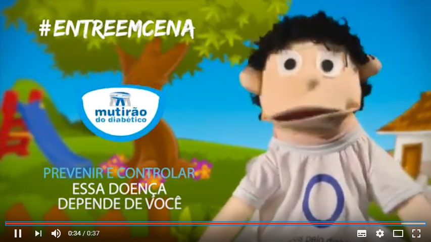 Campanha do Azulino para o Diabetes Infantil